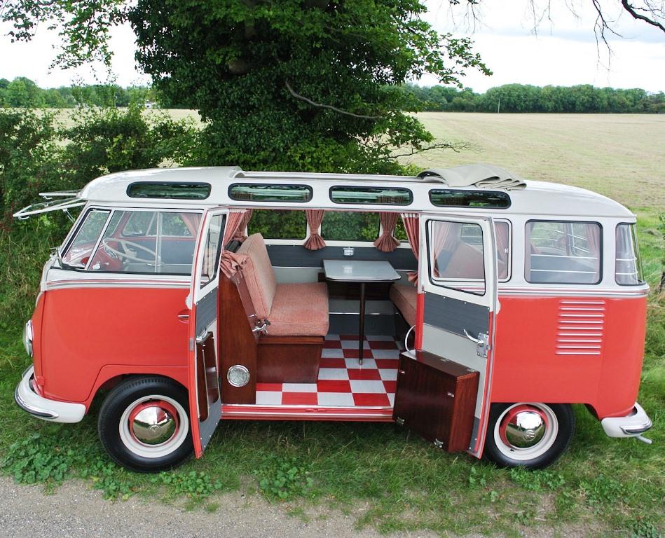 f0b199c908ab36 Fancy VW Type II split screen camper  - Wheel World Reviews