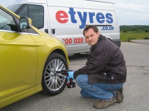 Have your tyres fitted at a time and place that's convenient for you.
