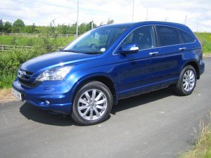 The Honda CR-V - just one of the models which is built in Britain.