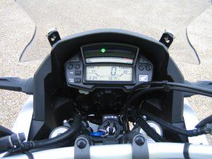 Honda Crosstourer road test - The instrument panel has lots of information.