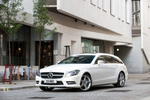 The Mercedes CLS Shooting Brake is quite a city slicker.