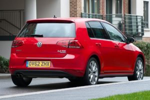 New VW Golf rear