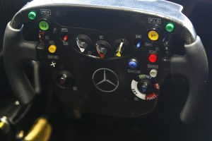 With 19 races this season, the McLaren Mercedes drivers will have plenty of time to get used to the complexities of the steering wheel.