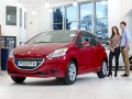 Peugeot 208 in showroom