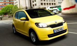 Skoda Citigo is a compact city car capable of returning big mpg figures.