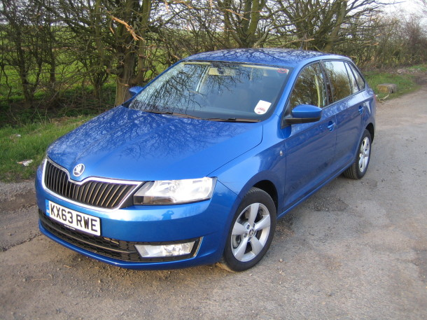 Skoda Rapid Spaceback SE 1.6 TDI 90PS DSG review, road test