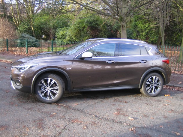 Infiniti QX30 Premium Tech road test report and review