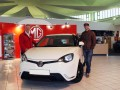 BTCC racer Andrew Jordan picks up his new MG3.
