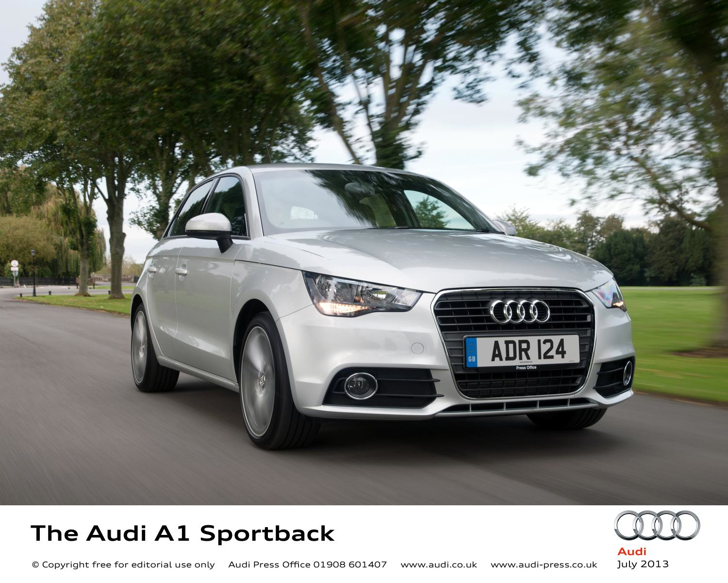 Audi A1 Sportback road test report and review
