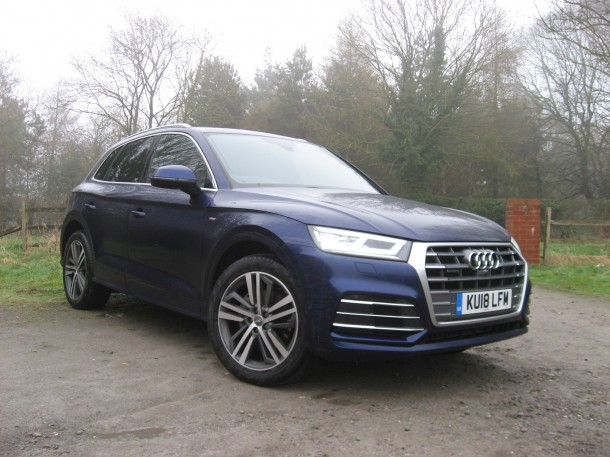 Audi Q5 2.0 TDI quattro S line road test report and review