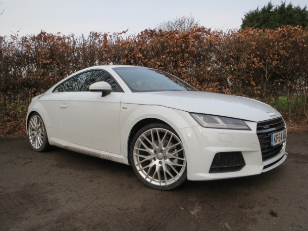 Audi TT Coupe S line quattro 230 PS S tronic road test report and review