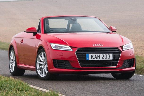 Audi TT Roadster road test review (1)