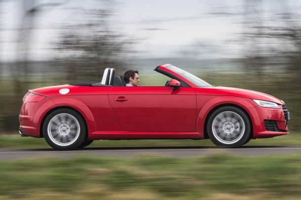 Audi TT Roadster road test review - third generation model boasts sharper handling.