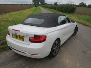 BMW 220d Convertible road test report and review