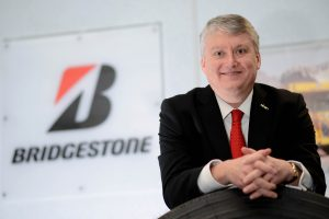 Bridgestone boss Robin Shaw.