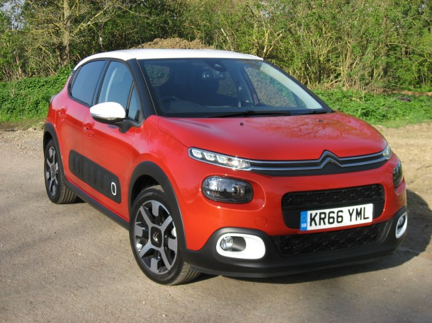 Citroen C3 Flair BlueHDI 100 road test report and review: Meet Citroen's funky new C3 range with bright colours which are sure to catch the eye. DAVID HOOPER has been putting one to the test.
