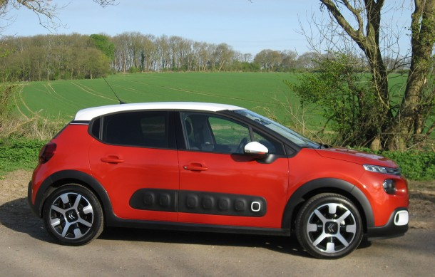 Citroen C3 Flair BlueHDI 100 road test report and review