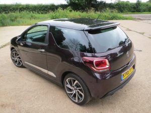 Citroen DS3 Prestige THP 165 S&S 6-speed road test report and review - a cool customer.