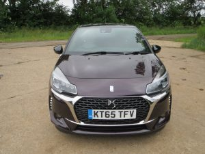 The front end of the DS3 is particularly eyecatching.