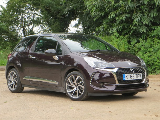 Citroen DS3 Prestige THP 165 S&S 6-speed road test report and review