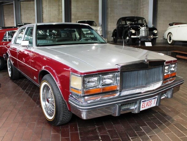 The Cadillac was purchased by Elvis in October 1976.