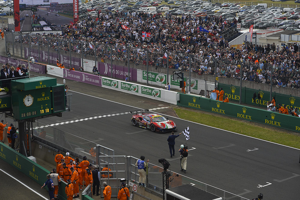 Ferrari planning its return to the Le Mans 24 Hours.