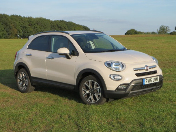 Fiat 500X 1.6 MultiJet 120hp Cross road test report review