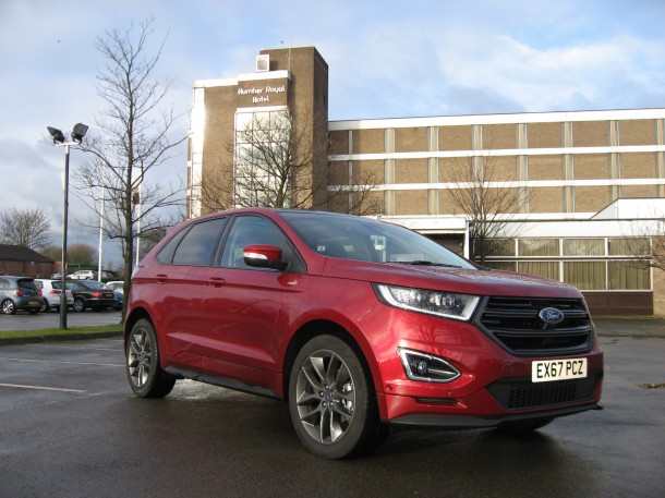 Ford Edge ST-Line 210PS TDCI road test report and review