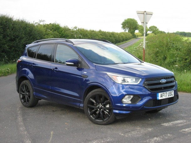 Ford Kuga ST-Line X 2.0TDCi 150PS FWD road test report and review