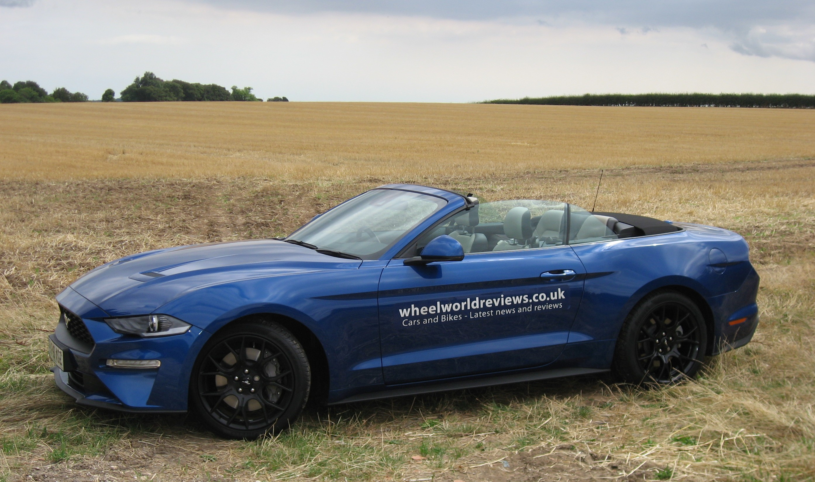 Ford Mustang Convertible road test report and review - a great looking car with tremendous road presence.
