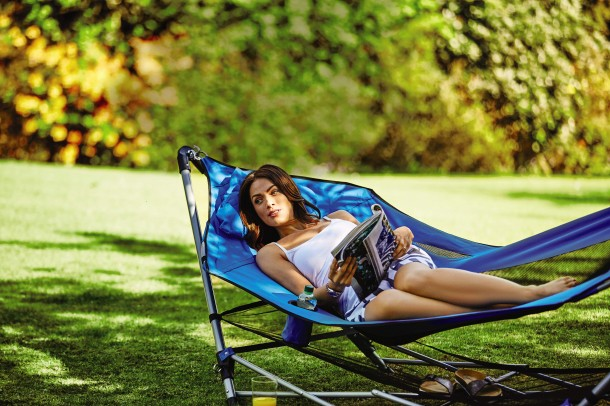 Aldi's new Family Camping range Hammock With Stand 04