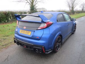 Honda Civic 2.0 VTEC Turbo Type R road test report and review