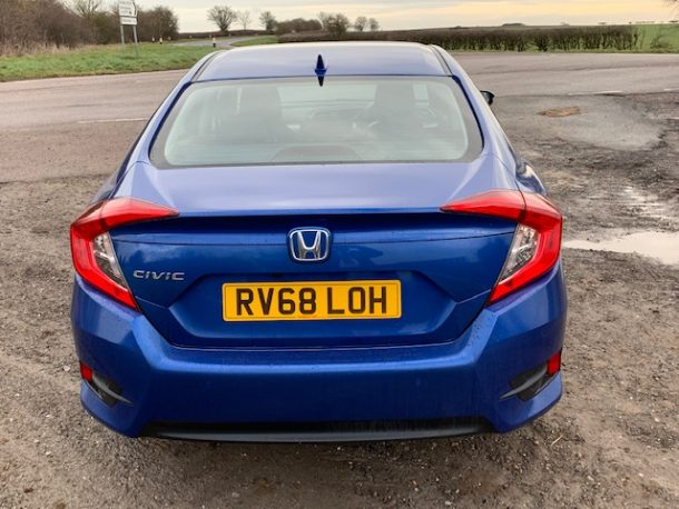 Honda Civic Sedan road test review (4)