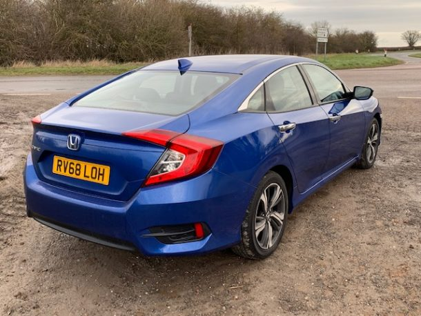 Honda Civic Sedan road test review (1)