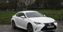 Lexus RC 300h F Sport road test report and review
