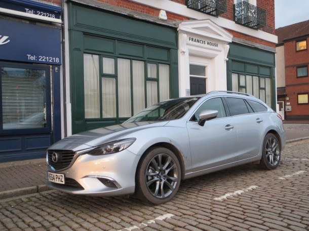 Mazda6 2.2D 150ps Sport Nav Tourer road test report and review
