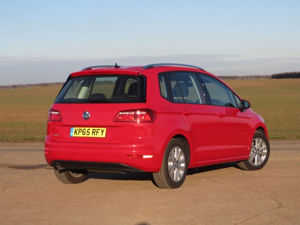 VW Golf SV SE 1.6-litre TDI 110 PS road test report and review