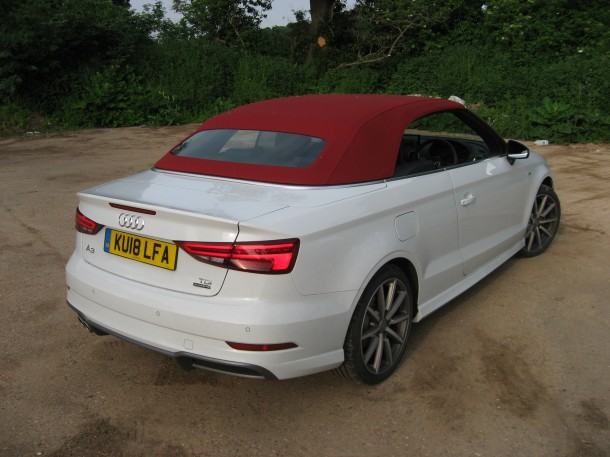 Audi A3 Cabriolet 2.0 TDi Quattro 184PS S line S Tronic road test report and review