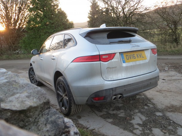 Jaguar F-Pace R-Sport 2.0d 180PS AWD road test report and review