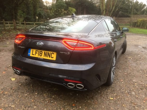 Kia Stinger GT-Line S road test review