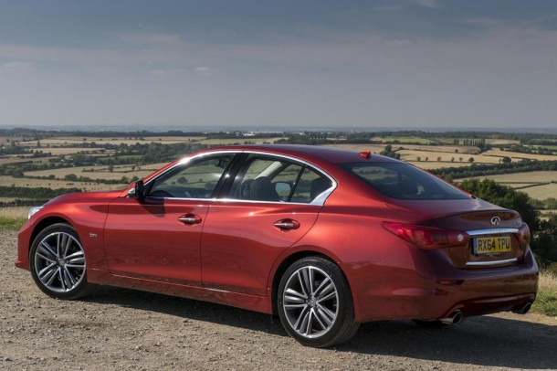 Infiniti Q50 2.0t Sport road test report review