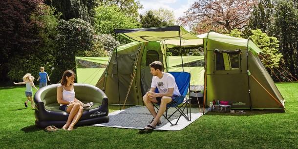 Aldi's new Family Camping range