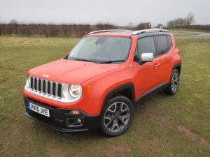 Jeep Renegade 1.6 MultiJet II Limited 120 road test report and review