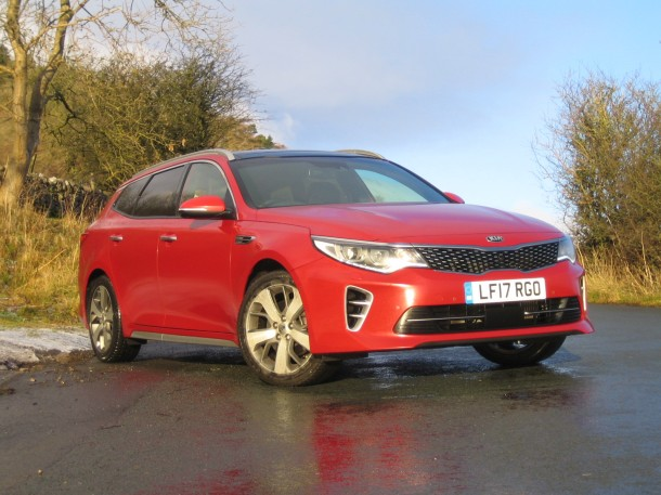 Kia Optima Sportswagon GT-Line S CRDi road test report and review
