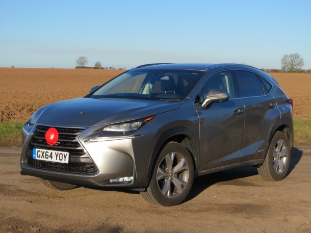 Lexus NX 300h Premier Auto road test report review