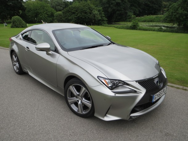 Lexus RC 300h Luxury Premium Navigation road test report and review