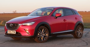 The CX-5's little brother is a good looking car from which angle you view it.
