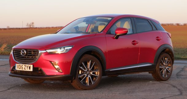 Mazda CX-3 1.5 105ps 2WD Sport Nav Diesel road test report and review