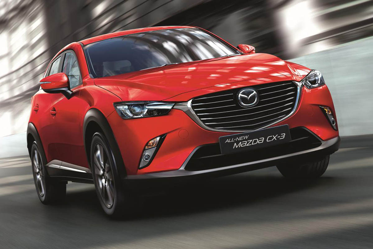 Mazda CX-3 SE-L Nav 2.0 road test report review