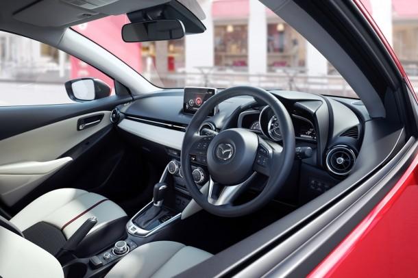 Mazda2  SE-L Nav 90PS 1.5 five-door hatch road test 1